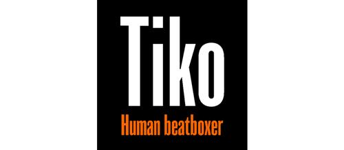 logo pied de page Tiko Human BeatBoxer, Tiko Human BeatBoxer
